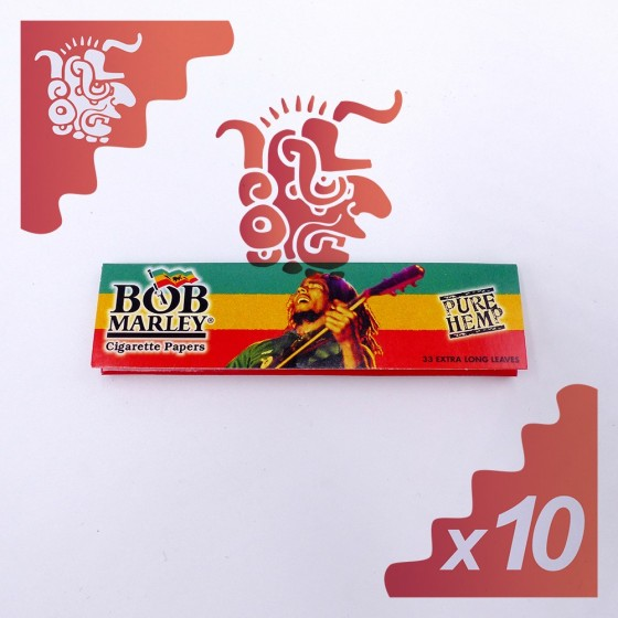 Bob Marley Cigarette Papers SLIM X10