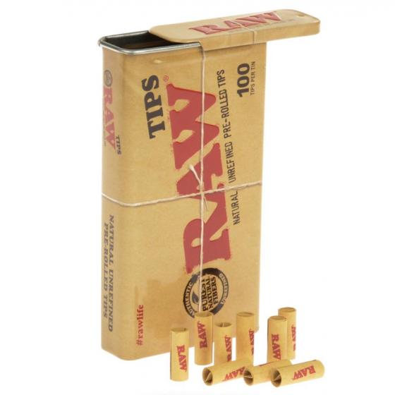 RAW FILTRE 6 mm X 100