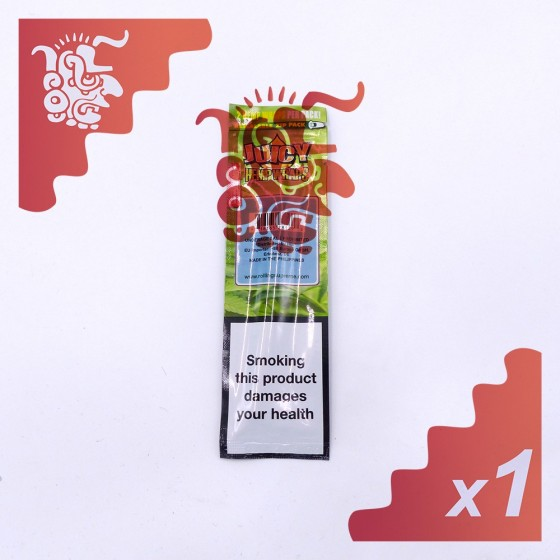 2 feuilles Juicy Jay's Hemp Wraps Tropical