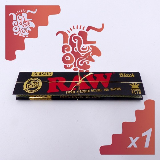 Raw KingSize Slim Black