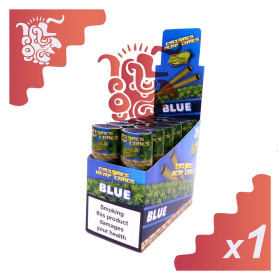 2 cônes Cyclones Hemp Cones Blue