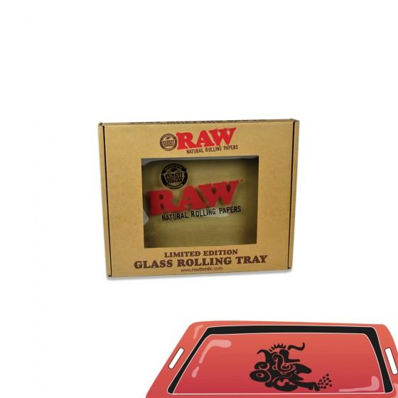 Plateau Raw verre