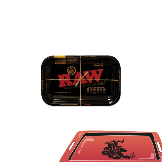 Plateau Black Tray Raw S