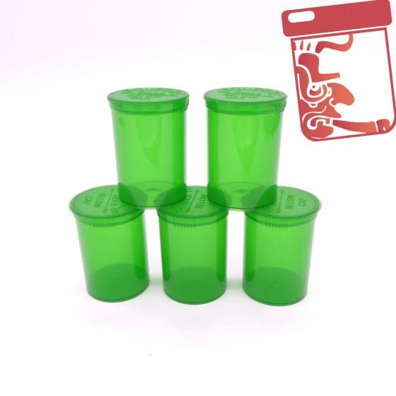 Boites en plastique Pop Top x5