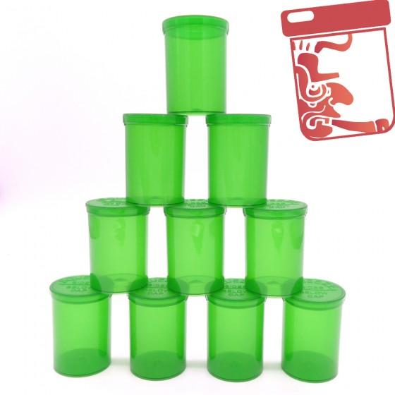 Boites en plastique Pop Top x10